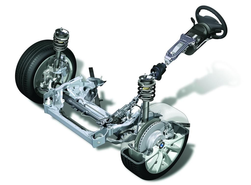 схема механизма работы рулевой рейки автомобиля