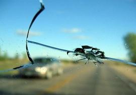Трещина в лобовом стекле